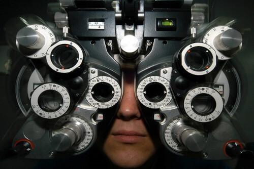 foropter - aparat do badania wzroku