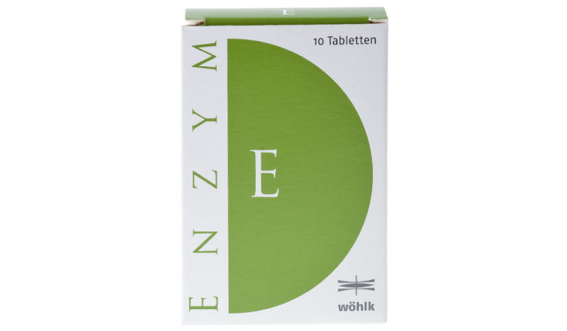 Wöhlk Enzym 10 tabletek