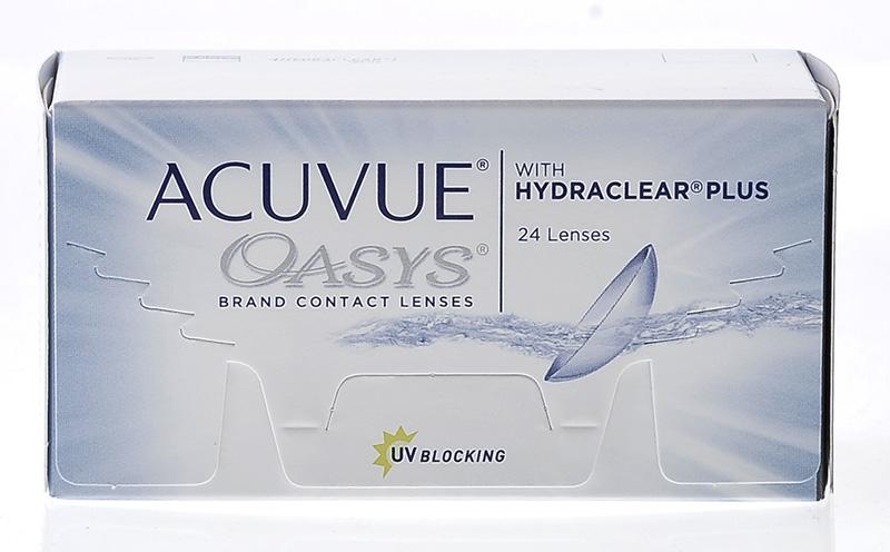 Acuvue® Oasys z Hydraclear® Plus 24 szt.