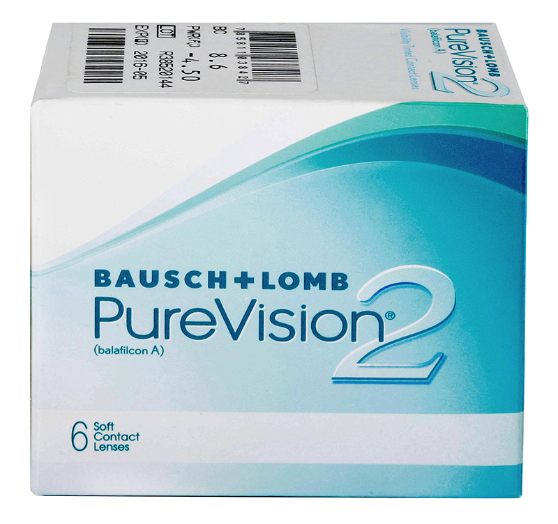 PureVision® 2 HD 6 szt. + maska na oczy GRATIS!