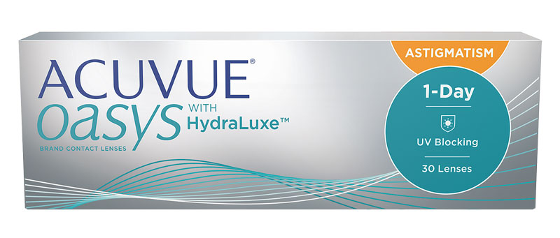 ACUVUE® OASYS 1-DAY FOR ASTIGMATISM 30 szt. (NOWOŚĆ)