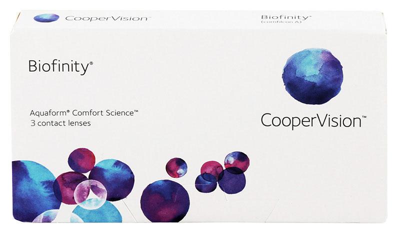 Biofinity® 3 szt.+ płyn GRATIS! (do 2 op.)