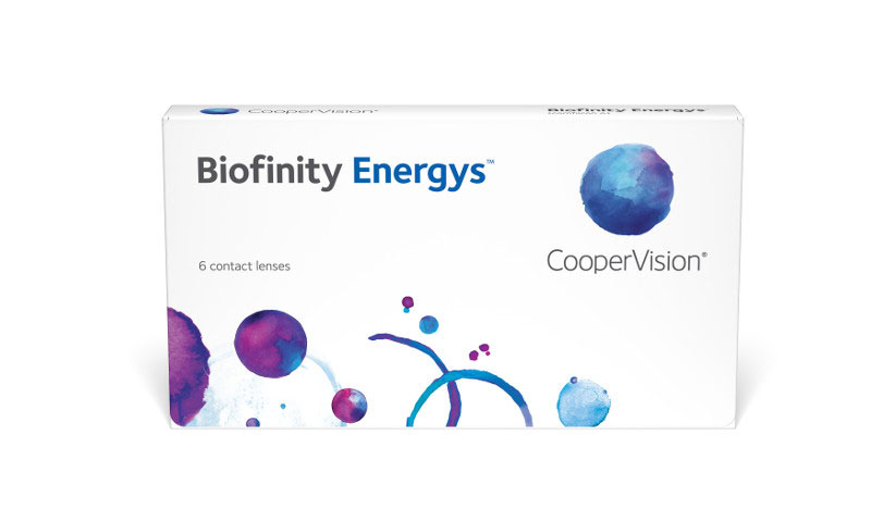 Biofinity Energys™ 6 szt. + Soczewki GRATIS! (do 2 op.)