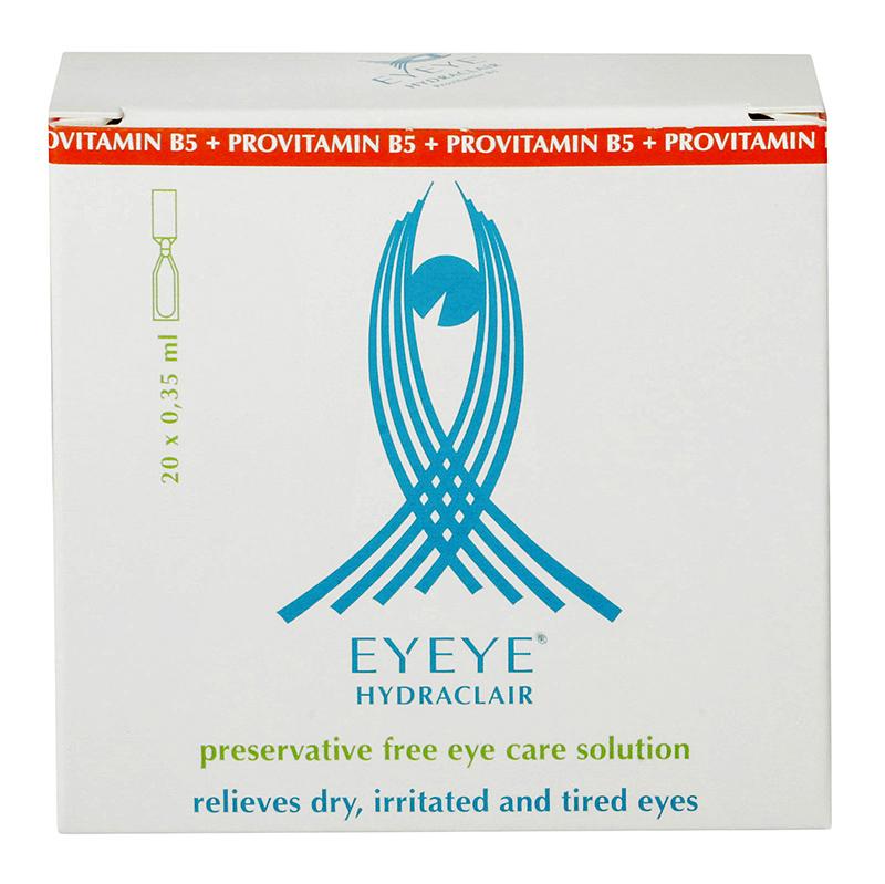 Eyeye Hydraclair™ z prowitaminą B5 20 x 0.35 ml