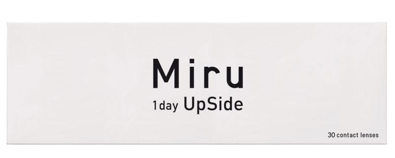 Miru 1 Day UpSide 30 szt. + Kompres na oczy GRATIS! (do 2 op.)