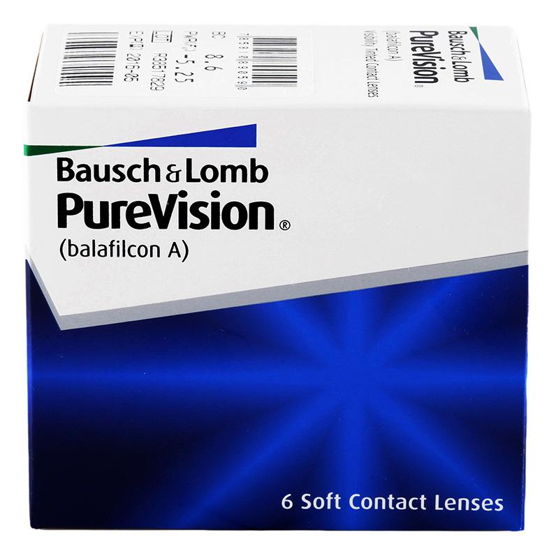 PureVision® 6 szt. (BC 8.3) + Soczewki GRATIS! (do 2 op.)