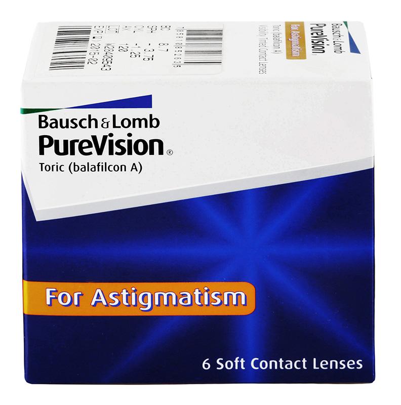 PureVision® Toric 6 szt. + płyn GRATIS!
