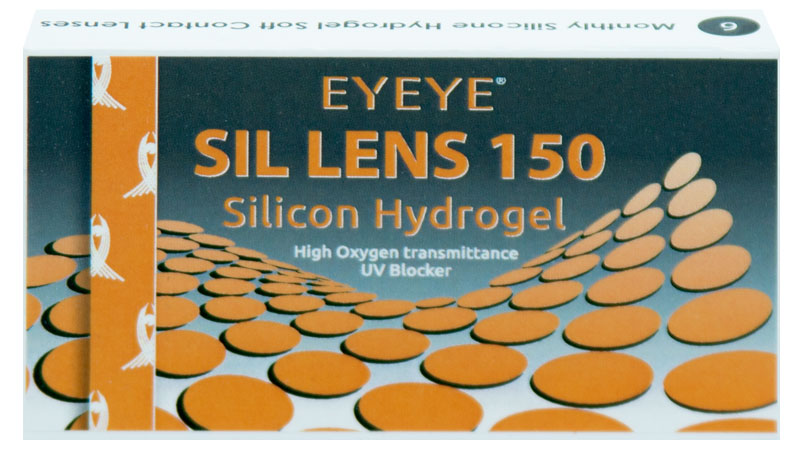 Eyeye Sil Lens 150 - 6 szt. + Płyn GRATIS! (do 2 op.)